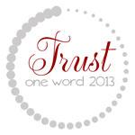 OneWord2013_Trust